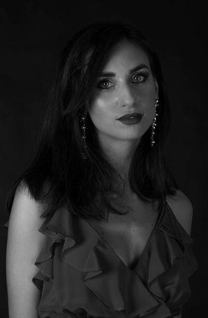 #blackandwhite #lights #nikon #portrait #portraitphotography #woman #womanportrait Beautiful Woman Fashion Looking At Camera