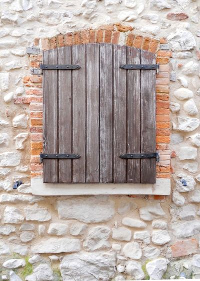 Wooden Windows Architectural Detail Textures And Surfaces Background Stone Wall Brickswork Boards Planks Wooden Texture ArchiTexture