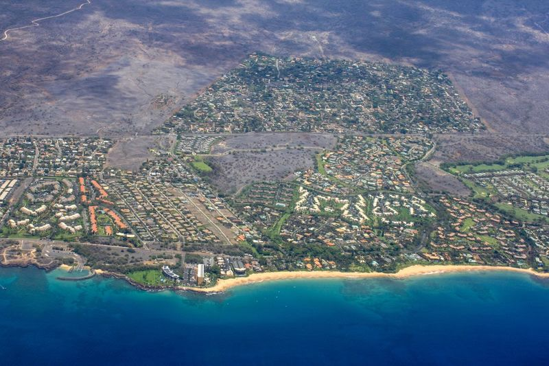Maui from above... Wailea.. Maui Hawaii Water Aerial View Architecture Nature Sky Scenics - Nature Sea