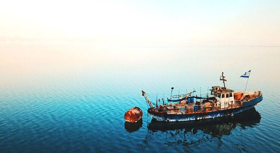 Abandon the ship!! Nautical Vessel Water Nature Transportation Sea No People Day Outdoors Scenics Beauty In Nature Sky