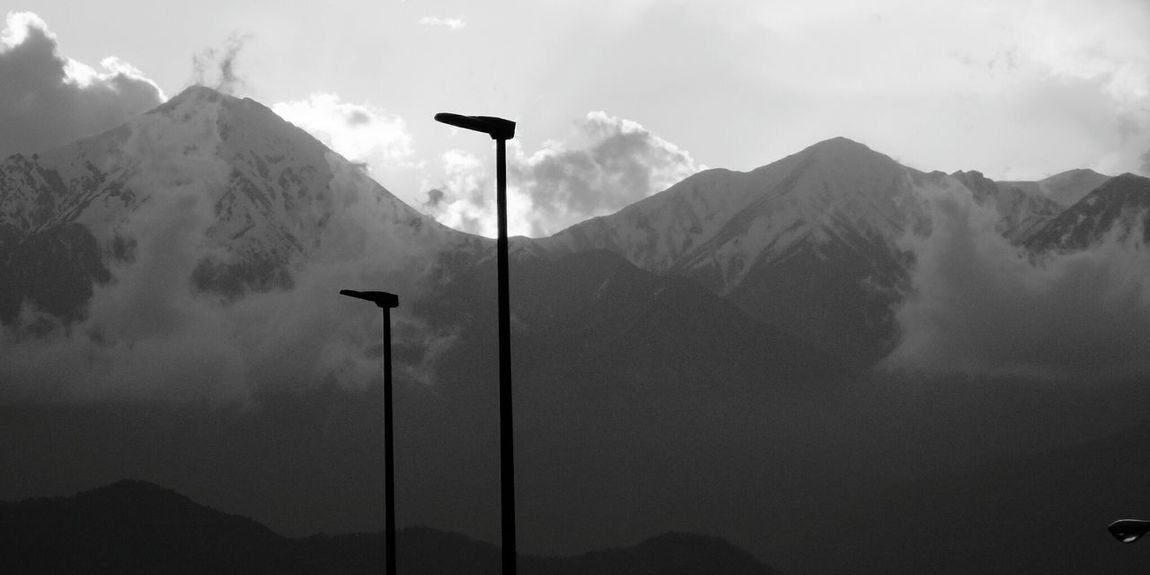 Nagano Japan Mountain Snow Mountain Range Mountain Peak Cold Temperature Winter Outdoors No People Travel Snowcapped Mountain Sky Nature Day Travel Destinations Landscape Beauty In Nature Monochrome Photography Monochromeart Monochrome _ Collection Monochrome Collection Monochrome World Monochrome Nature Black And White Collection