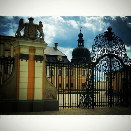 Pixlr Edeleny Edeleny Loves_hungary Ig_magyarorszag Ig_hun Instagram Iponthu Ikozosseg Mik Sky Cloud Castle River Church Countryside Color Sajatkep Vscohungary VSCO Myphoto Summer2015 Architecture Photograph Magyarország countryside photo loves_architecture gates window