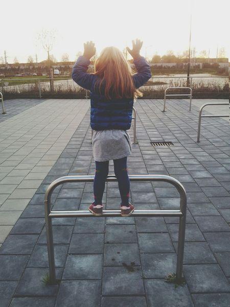 Kids Happiness Playground Sunrays
