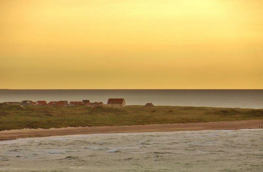 In the Horizon by the North Sea Denmark Tadaa Community EyeEm Sunset.
