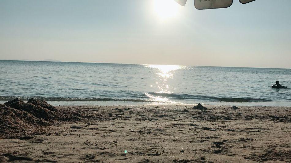 Sea Beach Horizon Over Water Water Scenics Beauty In Nature Nature