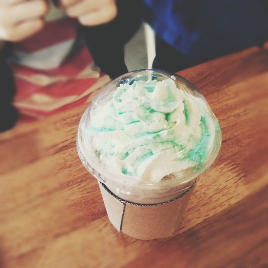 I love Mint♥♥ Coffee And Cigarettes Mint& Chocolate Frappuccino