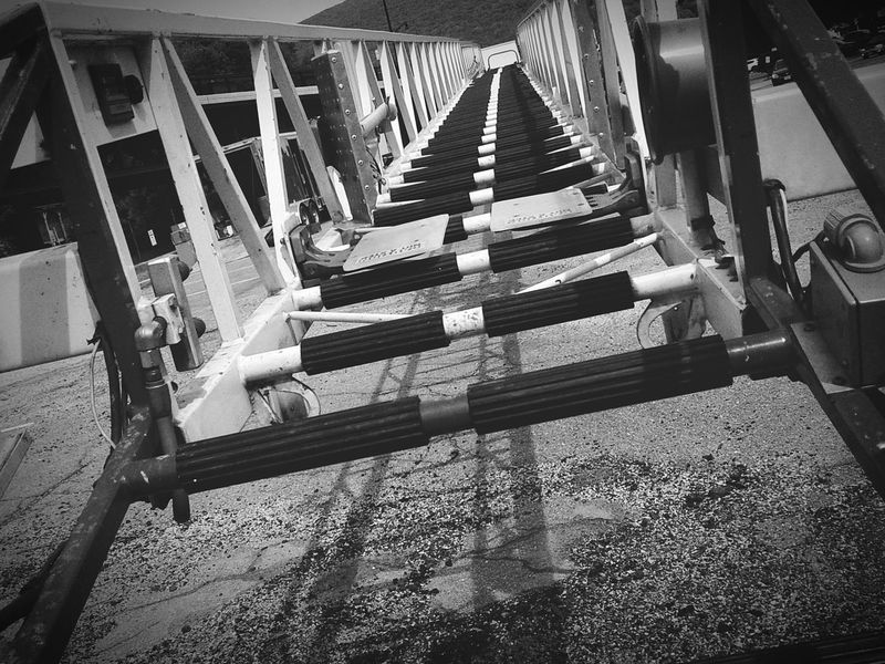 No People Day Outdoors Ladder Black And White Lines And Angles Light And Shadow Structure Built Structure Fire Truck Steps Rungs Metal Structure Architecture