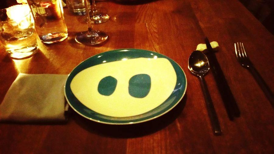 That's how a premium spanish restaurant starts... Tapas and Chopsticks...