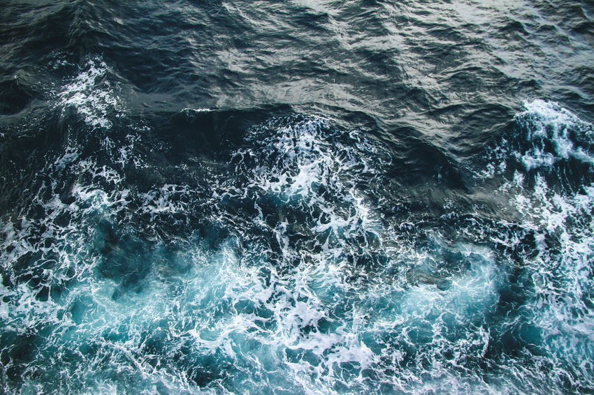 The wave view from the ship #Cool #Waves #hightide #sea #water Hightide Pattern Water Collection