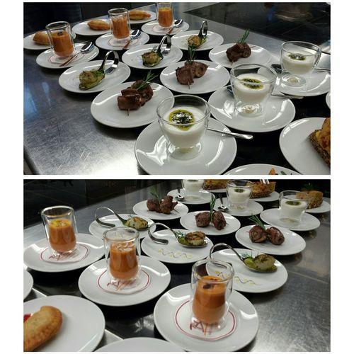 Tapas variation. 👌Chefsoninstagram Truecooks Chefs Kitchen Foodporn Spanish Food Foodphotography Swiss Hi! Food With Love