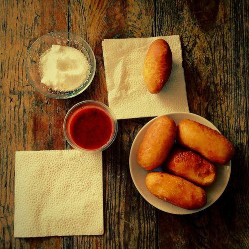 My breakfast)))