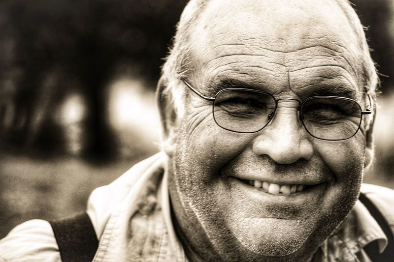 Farmers Senior Adult Portrait Smiling Human Face Happiness Black And White Friday