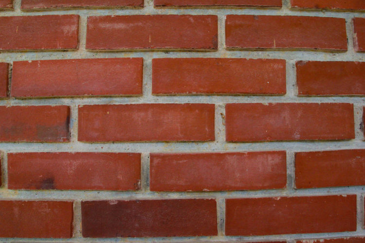 Brick Brick Wall Red Pattern Wall Architecture Wall - Building Feature Built Structure Full Frame Backgrounds No People Textured  Day Close-up Outdoors Brown Repetition Building Exterior Design Shape