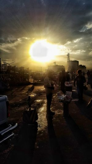 Showcase April Addis Ababa Piassa Afternoon Sky After The Rain Phonecamera Randomshot Beautiful Scene After the rain......