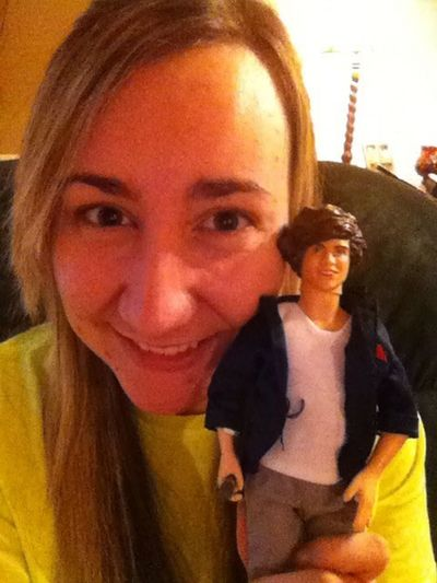 Just chillin with Harry ;)