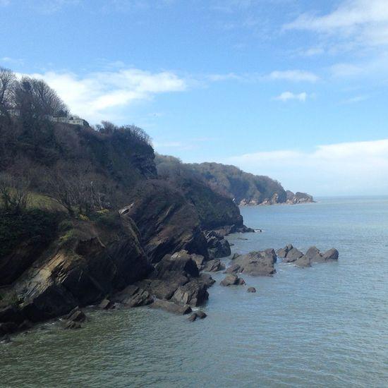 Devon Cliffs Sea Devon Ilfracombe, Devon. Cliffs Beach