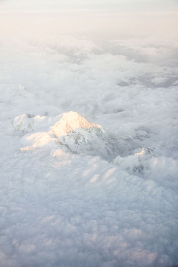 beyond the hills Aerial View Beauty In Nature Cloud - Sky Cold Temperature Day Ice Iceberg Landscape Nature No People Outdoors Scenics Sky Snow Tranquil Scene Tranquility Winter