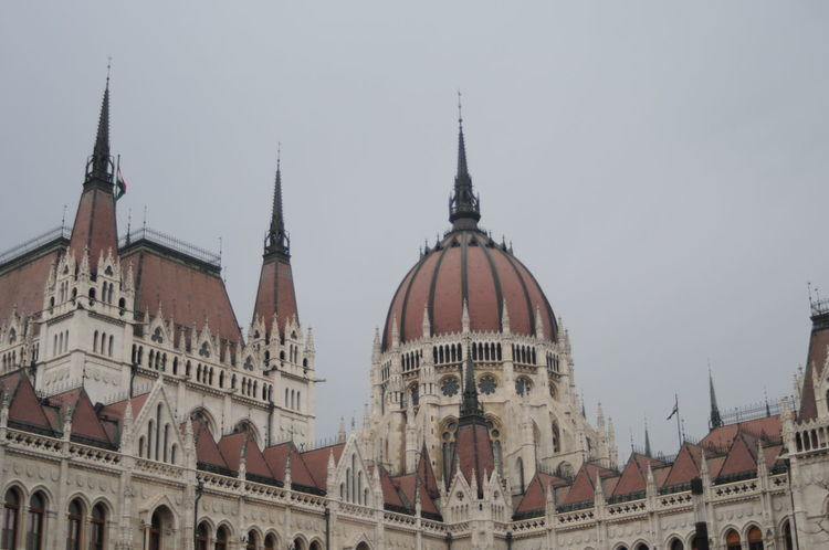 Hungarian Parliament, Budapest Architecture Architecture Architecture_collection Budapest Budapest, Hungary Building Exterior Day Dome Hungary No People Outdoors Parliament Building Sky Terrace Travel Destinations