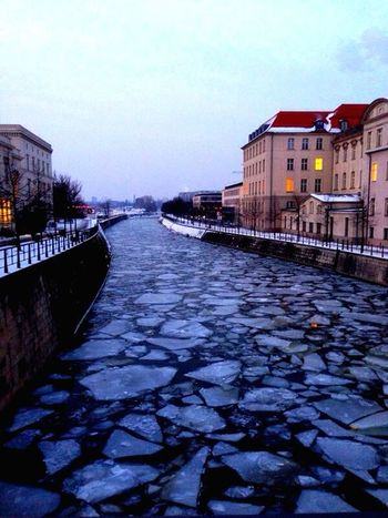 River View Winter Impressions Ice Streetphotography Berlin Winterscapes