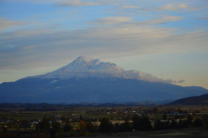 Mountain Landscape Outdoors Sky Snow Mt Shasta