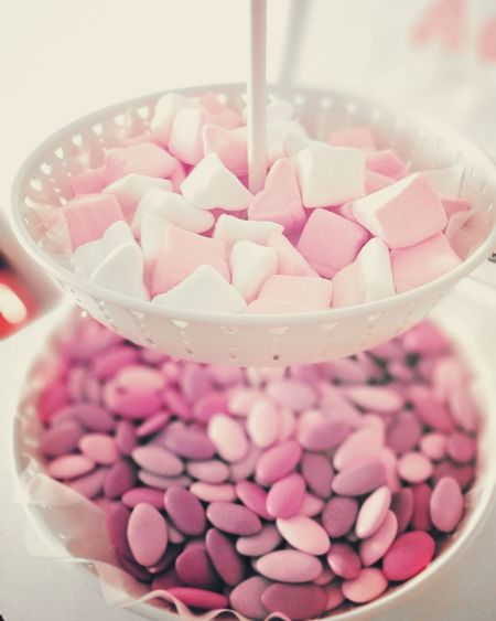 Heart Shape Love Pink Color No People Indoors  Close-up Cuore Caramellegommose Confetti