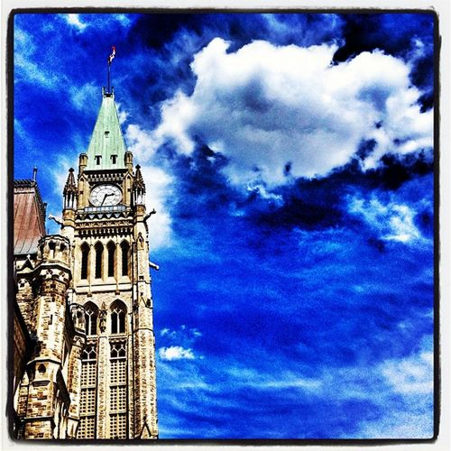 Peace Tower - East View. #ottawa #canada Instamood Government Architecture Ontario IPhoneography Instagood Peace Capital Tourist Peacetower Visitors Parliament Tower Igcanada Canada Allshots_oct12_landmark Landmark Igvermont Ottawa Igvt Iphoneonly Canadian_landmark Photooftheday Canadian_icon Picoftheday Canadian All_shots