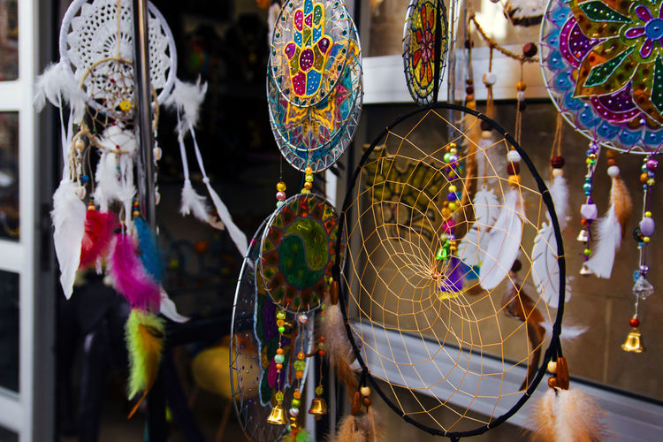 Hand made decoration hanging for sale in market