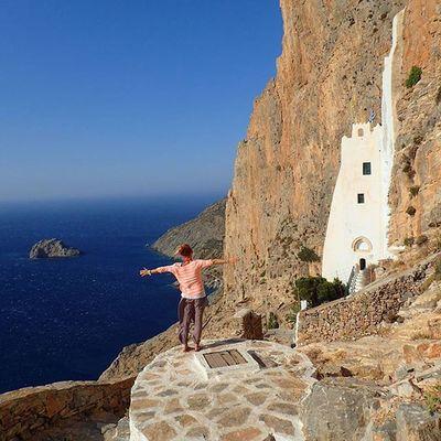 Amorgosisland Amorgos Cyclades Cyclades_islands Ig_cyclades Chozoviotissa Monastery Purewhite Wu_greece15 Wu_greece Wu_europe Iggreece Ig_greekshots Ig_greece VisitGreece Greecestagram Greece Summer2015 Aegean Mediterranean  Legrandbleu Thebigblue Amazingview Iloveamorgos Lifeisgood keeponsmiling ig_neverstopexploring HiGh aboVe aEgeAn 🐳🐳🐳🐳🐳🐳🐳🐳🐳