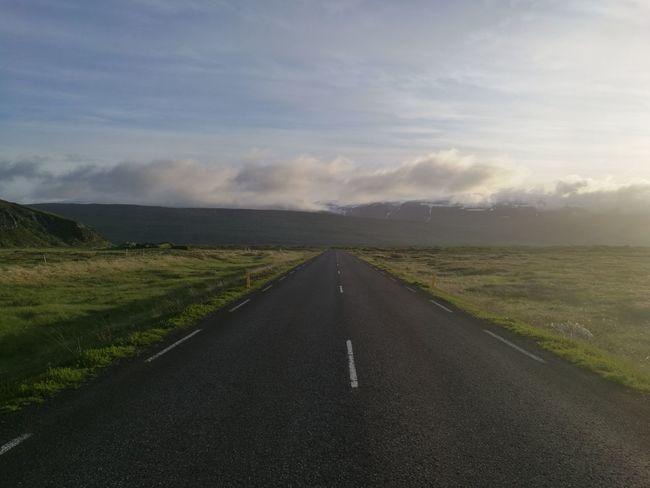 Iceland Islandia Island Norðurland Eystra Husavik Road 1 Ring Road Þjóðvegur 1 Road