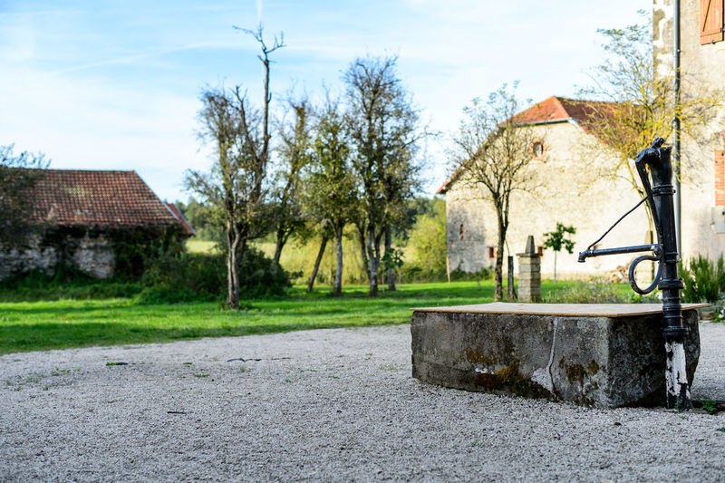 Architecture Chateaux Field Grass Nature Old Buildings Rural Rural Scene Scenics Sun Waterpump