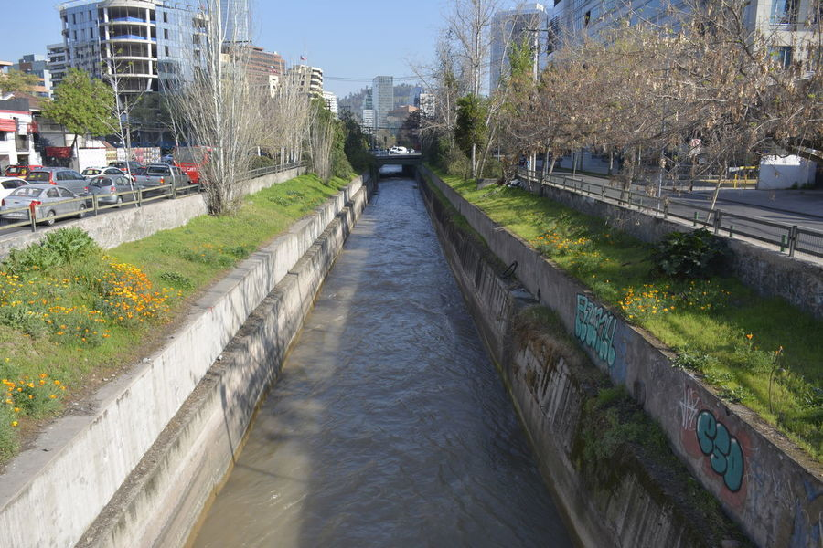 Landscape of Canal and river Cityscape Nature Trees Canal Canals Park River Riverbank Water Water Flow