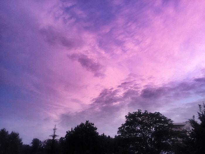 Abendstimmung Abendstimmung Himmel Wolken Tadaa Community EyeEm Nature Lover EyeEm Deutschland EyeEm Best Shots Daswasichsehe😊