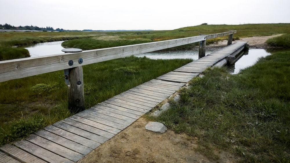 Beautiful Nature Beauty In Nature Day Grass Historical Paths Nature No People Northsea Northseatrail Outdoors Path Rural Scene Salt Meadows Solitude Solitude By The Water Wood Wooden Path