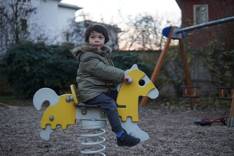 kid in the park