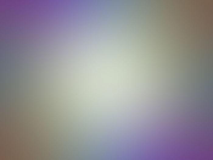 Defocused image of clear sky