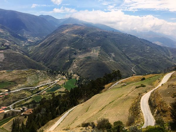 Andes Landscape Andes Mountains Andes No People Road Landscape Outdoors Nature Cloud - Sky Day Beauty In Nature Scenics Sky Mountain Viewpoint Mountain Range Summer Green Color Nature Hiking Beauty In Nature Sport Travel Travel Destinations Travel Photography