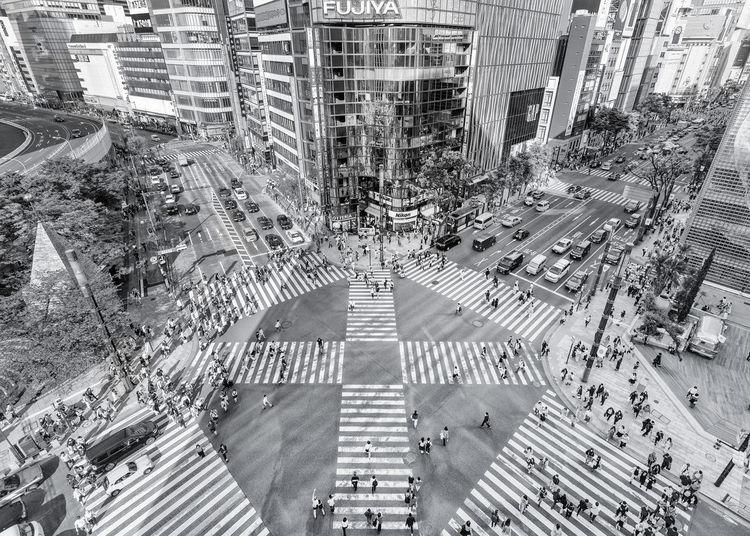 Ginza Ginza Tokyo Japan Ginza Walk Ginza Street Ginza Crossing