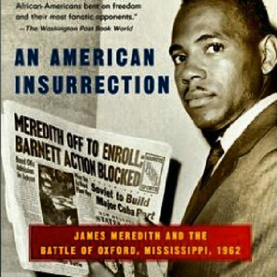 In 1961, a black veteran named James Meredith applied for admission to the University of Mississippi.