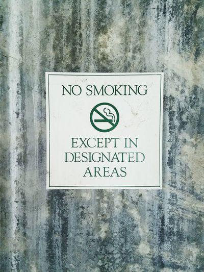 No smoking sign Sign Wall Decoration Signs warning Smoke Sign