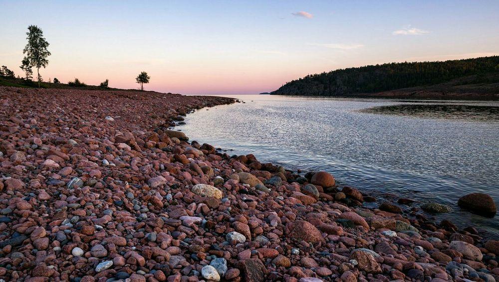 Norrfällsviken Högakusten Ångermanland Sweden Landscape Seascape