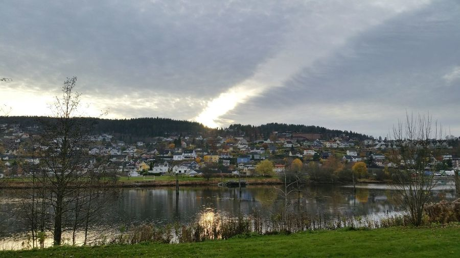 Lillestrøm, my place in heaven on Norway. Lillestrøm Autumn Colors Enjoying Life Sea And Sky Sunset