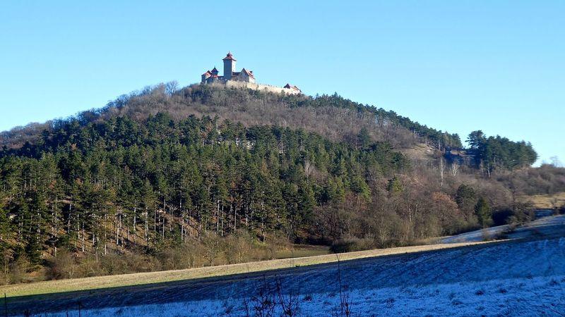 Beauty In Nature Burg Castle Clear Sky Cold Temperature Dreigleichen Growth Nature Scenics Snow Thuringen Thüringen Erleben Thüringen_entdecken Thüringenentdecken Wachsenburg Winter