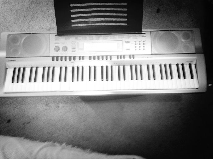 Playing with my keyboard 76 Keys