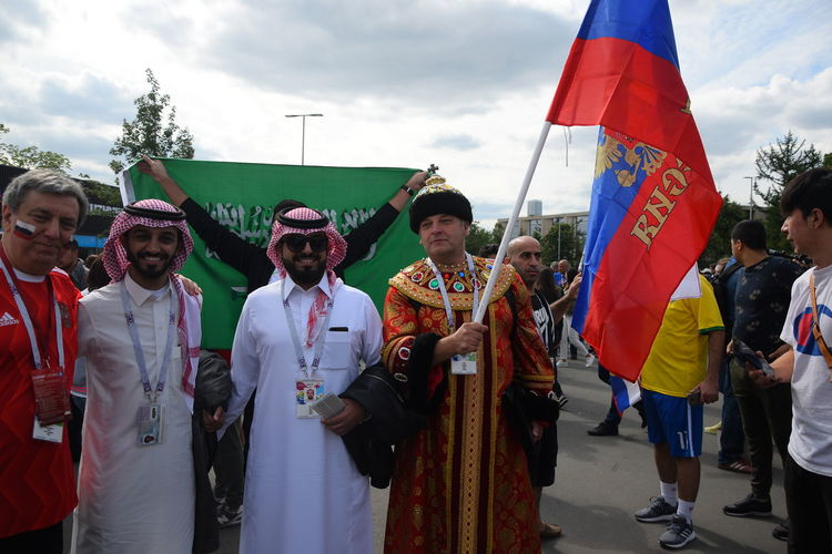 Contact me : roman@alyabev.com Fifa Football Moscow Adult Celebration Cloud - Sky Crowd Day Fan Fans Festival Fifa18 Fifa2018 Flag Group Of People Large Group Of People Leisure Activity Lifestyles Men Nature Outdoors Patriotism Real People Sky Standing Street Traditional Clothing Women