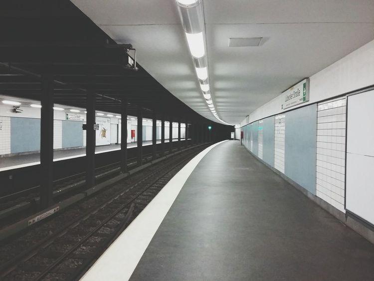 Metro Station Lübecker Straße. · Hamburg Germany Hamburg Meine Perle Ubahn Ubahn Hamburg Metro Subway Train Station Emptiness VOID Urban Geometry