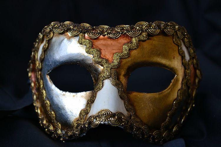 Venetian Mask Black Background Mask Mask_collection Masks No People Venetian Venetian Carnival Venetian Mask