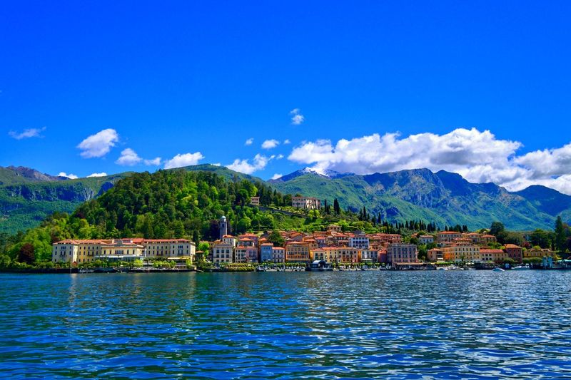 Como Lake Italy cityscapes Cityscape Waterfront Water Sky Mountain Architecture Waterfront No People