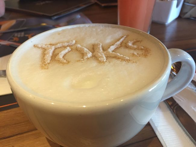 Capuchino en Toks Coffee - Drink Cappuccino