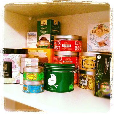 Man könnte meinen, ich tränke gerne Tee...