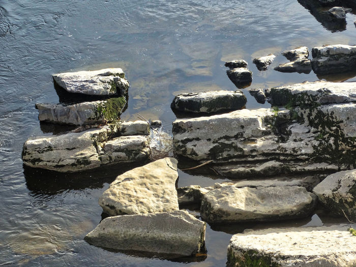 Rocks on the river. Rocks Rocky Rock - Object Rock Water Waterfront Lake River Riverside Nature Stones Stone Reflection Reflections In The Water Stream Flowing Water Rippled Ripples Outdoors Day